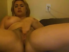 Amateur, Big Boobs, Blonde, Masturbation