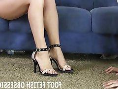 BDSM, Femdom, Foot Fetish, POV, Stockings