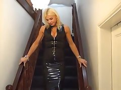 British, Latex, MILF, POV