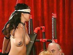 BDSM, Asian, Blonde, Brunette