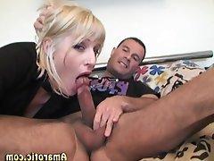 Ass Licking, Blonde, Lingerie, Piercing