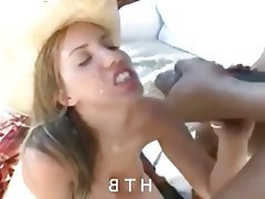 Blowjob, Cumshot, Facial, Interracial
