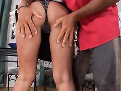 Babe, Blowjob, Ebony, Feet