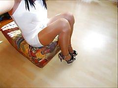 Amateur, Lingerie, Spandex, Stockings, Vintage
