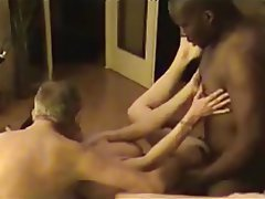 Amateur, Cuckold, Interracial, Threesome