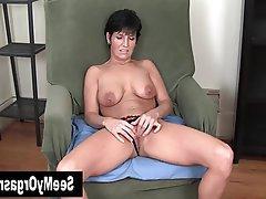Amateur, Big Boobs, Brunette, Masturbation, MILF