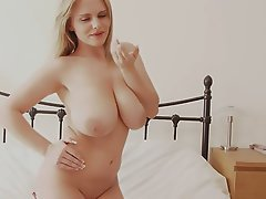 Big Boobs, Big Butts, Blonde, Lingerie, Teen