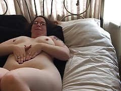 British, Amateur, BBW, Masturbation
