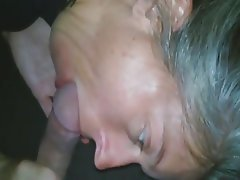 Amateur, Blowjob, Cum in mouth, Cumshot, Mature