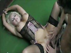 Big Boobs, Blonde, British, Stockings