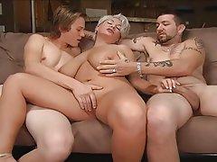 BBW, Double Penetration, MILF, Threesome