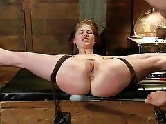 BDSM, Bondage, Close Up, Mistress, Strapon