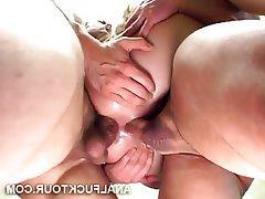 Anal, Big Cock, Threesome, Double Penetration, Hardcore