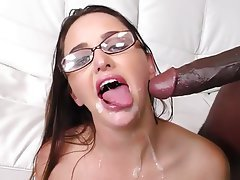 Big Black Cock, Big Cock, Facial, POV