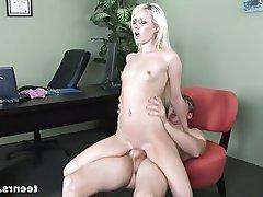 Blonde, Hardcore, Pornstar, Skinny