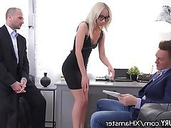Anal, Blonde, Double Penetration, Threesome