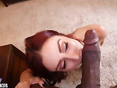 Babe, Interracial, Big Cock, Big Black Cock