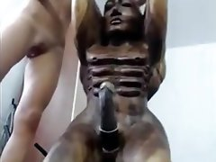 Amateur, Big Black Cock, African, Homemade