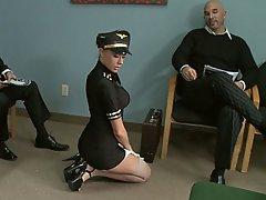 Upskirt, Stockings, Big Tits, Boobs
