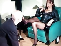 BDSM, Femdom, Foot Fetish, Latex, Stockings