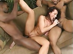 Creampie, Interracial, Threesome