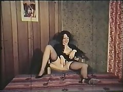Hairy, Lingerie, MILF, Stockings, Vintage