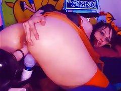BBW, Masturbation, Squirt, Webcam
