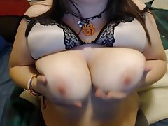 Big Boobs, Lingerie, Nipples, Spanking