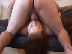 BBW, Big Boobs, Blowjob, Redhead