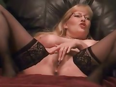 Blonde, Hairy, MILF, Orgasm, Squirt