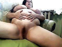 Amateur, Granny, Masturbation, Mature, Webcam