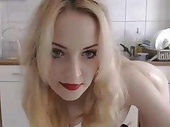 Amateur, Big Butts, Blonde, Masturbation