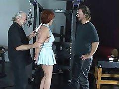 BDSM, Threesome, Mature, Redhead