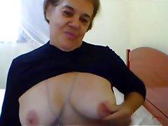 Amateur, Big Boobs, Granny, Masturbation, Webcam