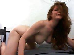 Big Boobs, Masturbation, Redhead