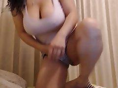 Amateur, BBW, Big Boobs, Masturbation, Nipples