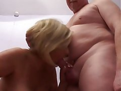 Big Boobs, Blowjob, British, Cumshot, MILF
