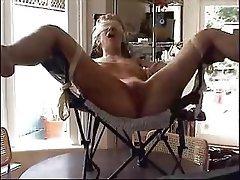 Blonde, MILF, Orgasm