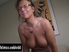 German, Masturbation, Mature, Softcore