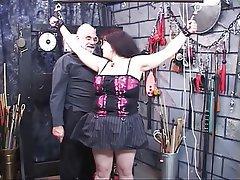 BDSM, Big Boobs, Brunette, Mature, Lingerie